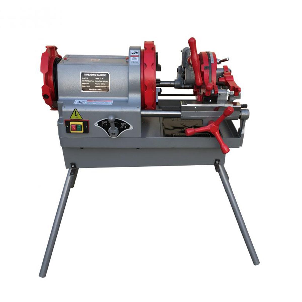 """Elektromos csőmenetmetsző (P-100; 1/2""""-3/4"""" 1""""-2"""" 2.1""""-4"""") (220V) P100"""