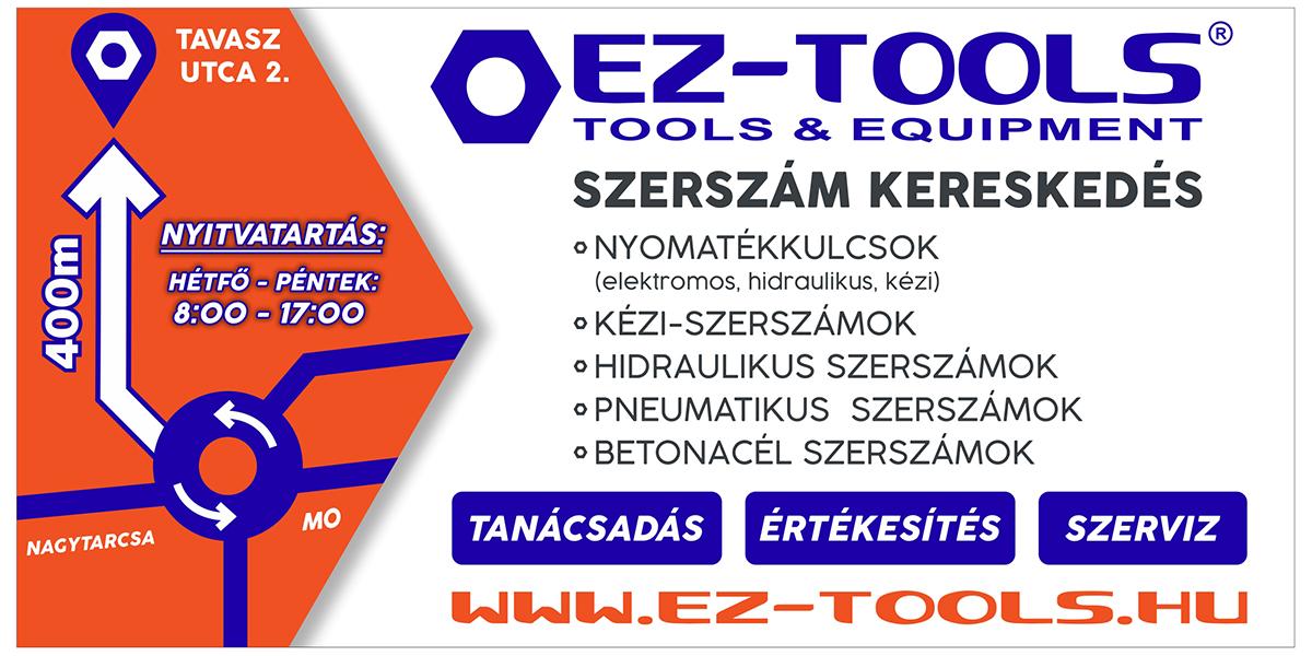 EZ-Tools Kft Nagytarcsán