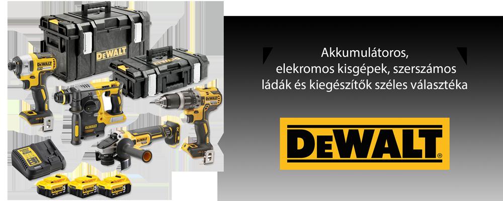 DeWALT banner